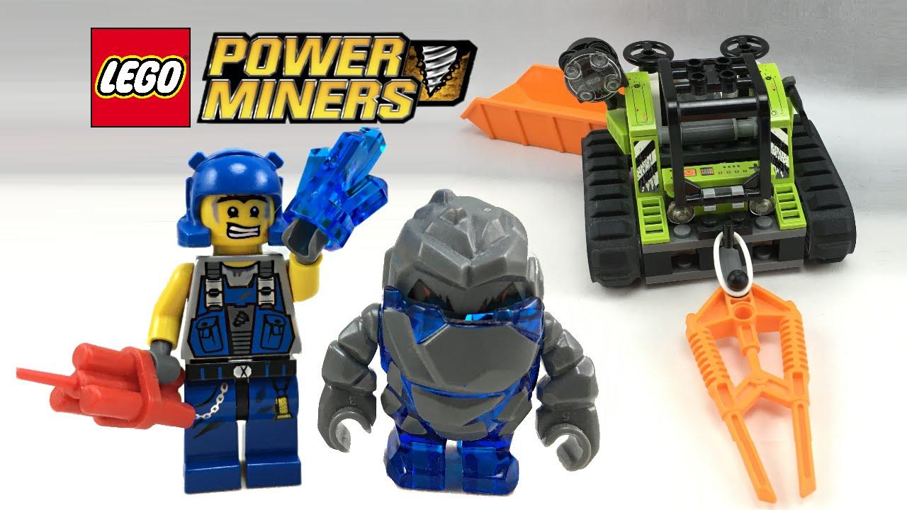 LEGO Power Miners Granite Grinder review! 2009 set 8958 ...