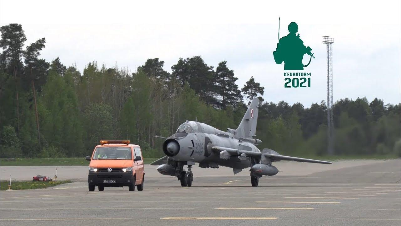 Poola üksused saabusid Kevadtormile