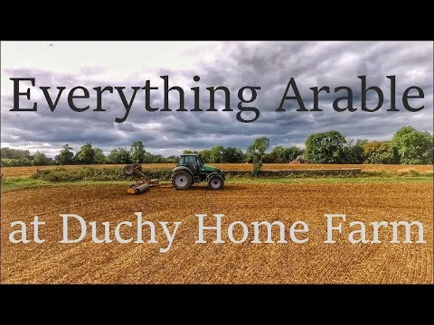 Harvest 2016: Everything Arable At Duchy Home Farm 1080p