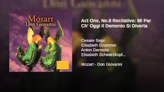 Act One, No.8 Recitativo: Mi Par Ch