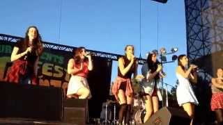 Cimorelli - Party In The USA at DigiFest Toronto