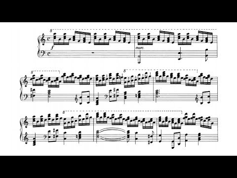 Ernő Dohnányi - 6 Concert Etudes Op. 28 (audio + sheet music)