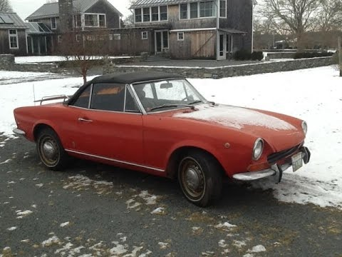 Car Restoration - 1969 Fiat 124 Spider