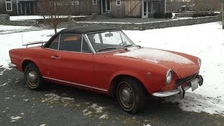 Car Restoration - 1969 Fiat 124 Spider