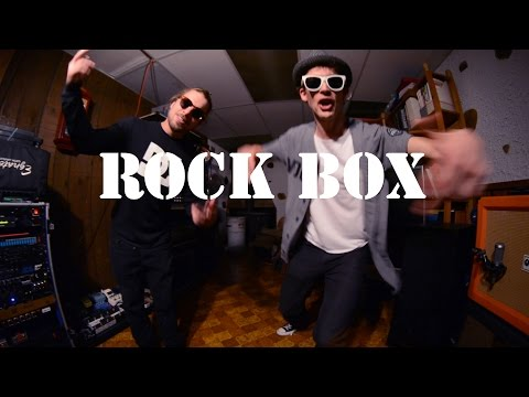 Run DMC - Rock Box - Metal Cover (BMF Factory)