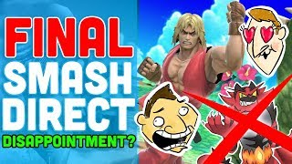 Final Smash Direct Disappointment? - Hot Take