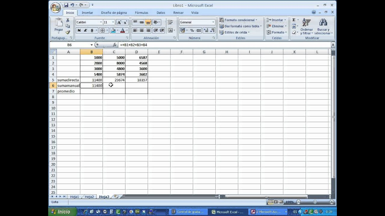 13 Tutorial Excel Ejercicios Matematicos 1 Youtube