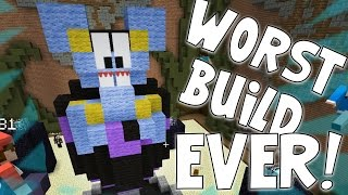 Minecraft - Build Battle Buddies - WORST BUILD EVER! W/AshDubh