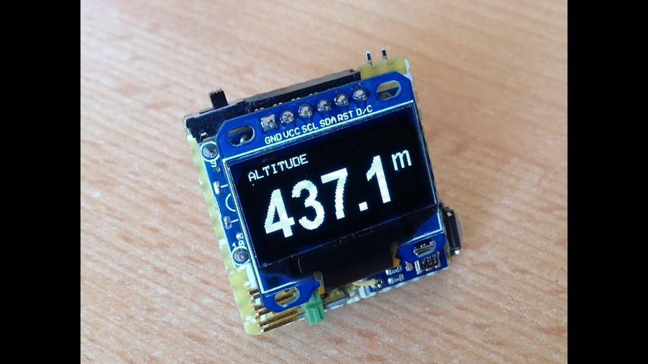 Arduino yükseklik Ölçer altimetre yapımı youtube