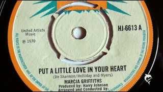 Marcia Griffiths - Put A Little Love In Your Heart (1970) Harry J 6613 A