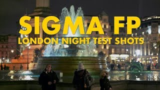 SIGMA fp: London Night Test Shots