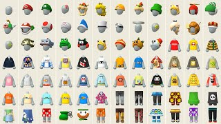 Super Mario Maker 2 - All Mii Outfits