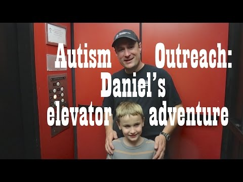 elevaTOURS Autism Outreach: Daniel's Roanoke Elevator Adventure!