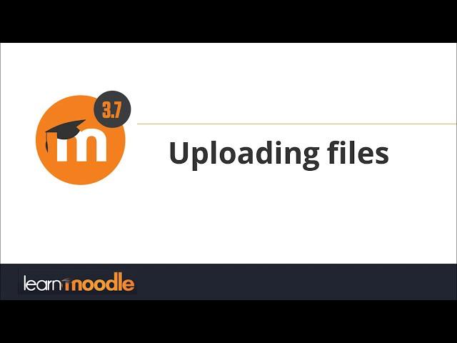 3.7 Uploading files