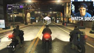 Watch Dogs Multijugador | Modo Online | Carreras de Motos y Carros| Gameplay PS4