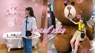 Seoul Vlog 2019 | kpop live show, cat cafe, shopping, busking