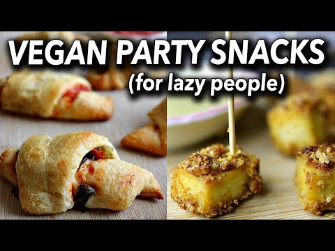 VEGAN CHRISTMAS RECIPES (PARTY SNACKS) FOR BEGINNERS