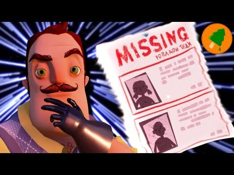 Hello Neighbor's Traumatic Backstory (BETA 3)