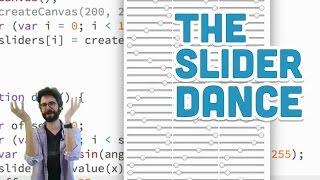 8.16: The Slider Dance - p5.js Tutorial