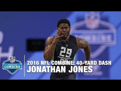 Jonathan Jones' Lightning Fast 40-Yard Dash (Auburn, DB) | 2016 NFL Combine