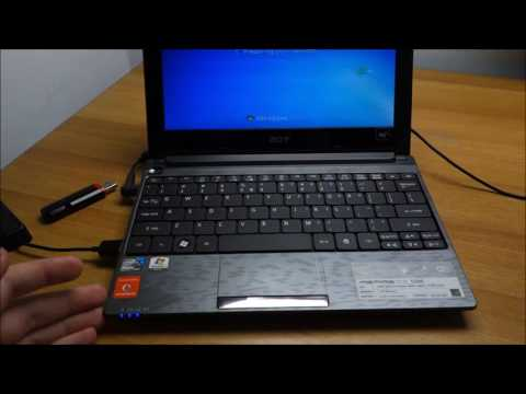 How to - Acer Aspire One repair and Windows 10 upgrade