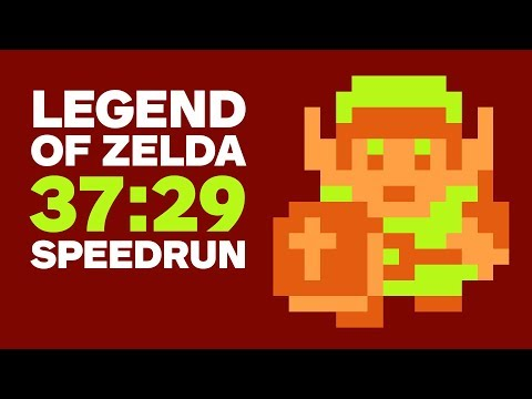 Original Legend of Zelda Finished In 37 Minutes (Speedrun)