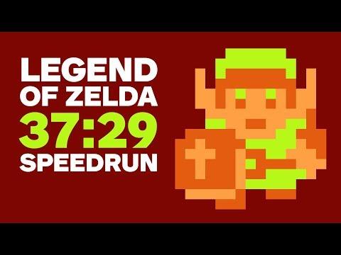 Original Legend of Zelda Finished In 37 Minutes Speedrun