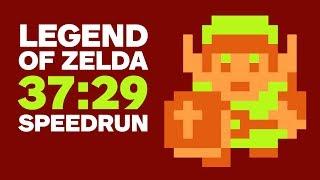 Original Legend of Zelda Finished In 37 Minutes (Speedrun)