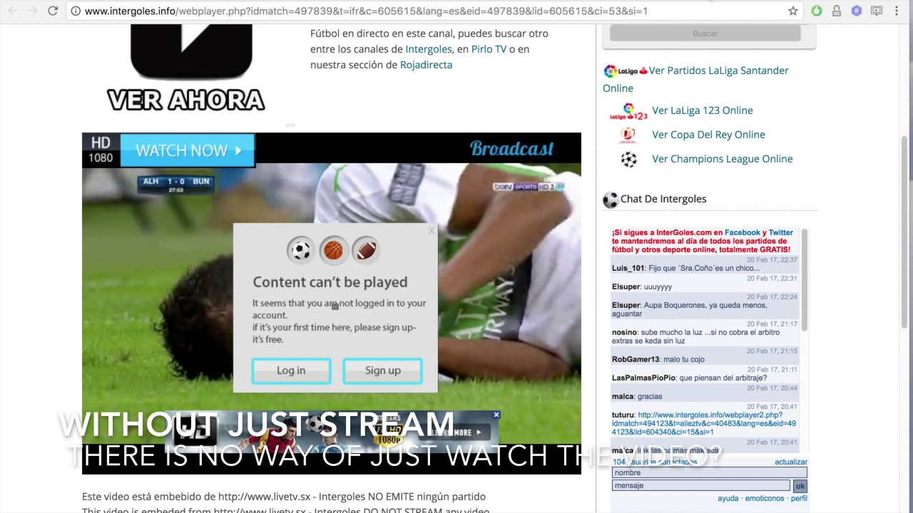 Chrome Extension: Just Stream - YouTube
