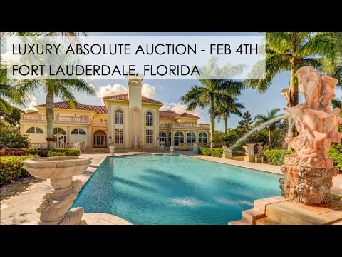 Fort Lauderdale Florida Mega Mansion For Sale [18,000+ Sq Ft]