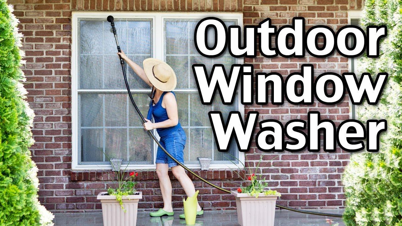 Homemade Outdoor Window Washer Recipe