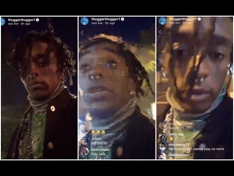 Lil Uzi Vert Takes Over Young Thug's Live Finds Jesus While Walking Streets