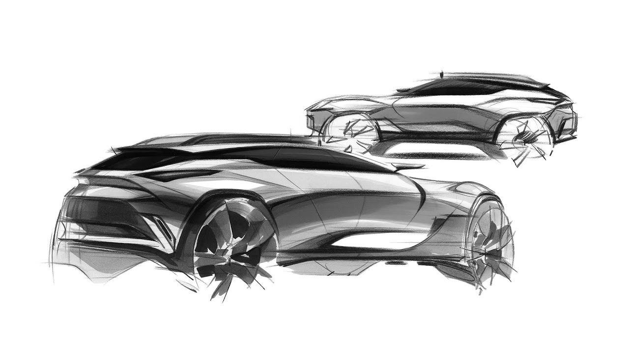 Car Sketch Design 313th Demonstration Youtube