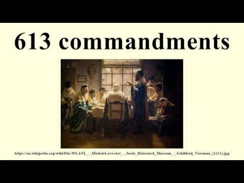613 commandments