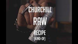 Churchill RAW e-liquid - Flavour profile reveal + RECIPE!