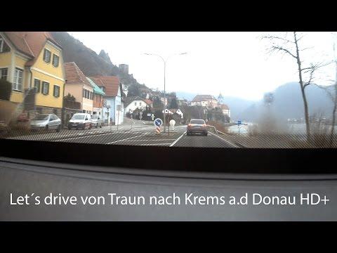 Let´s drive von Traun nach Krems a d Donau HD+