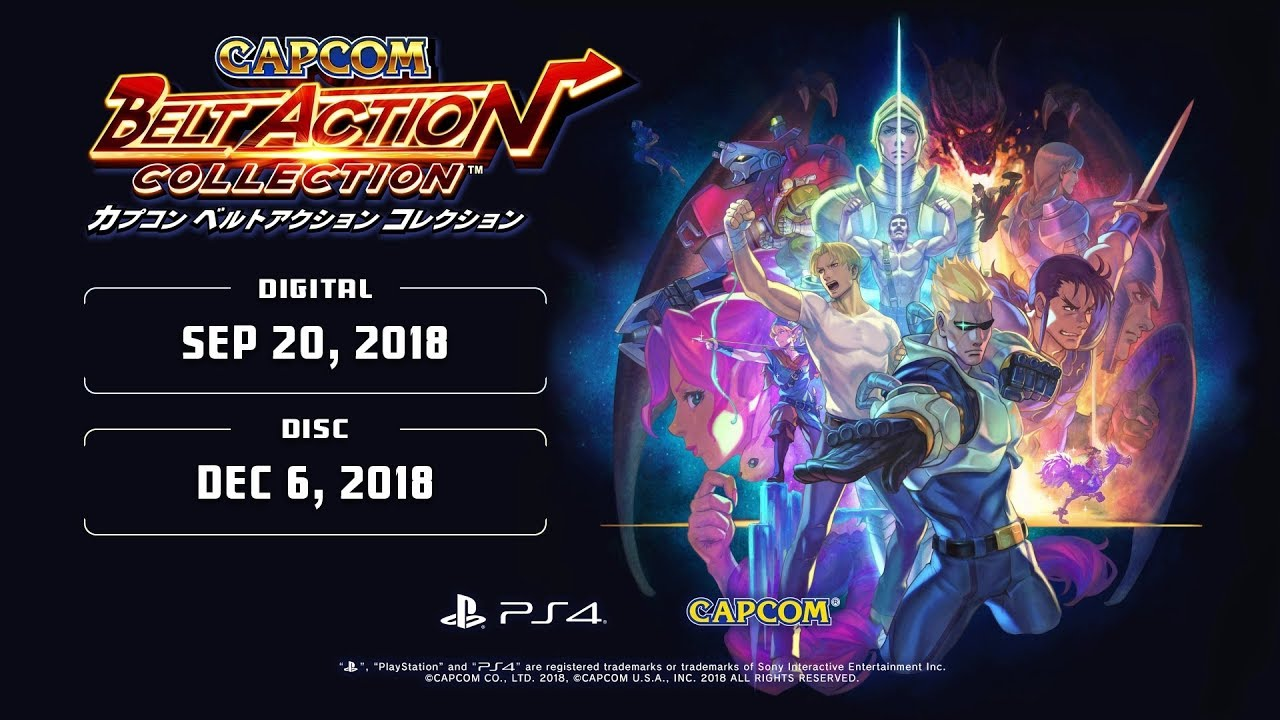 Capcom Belt Action Collection Trailer