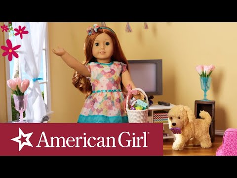 Happy Easter From American Girl Stop Motion | American Girl