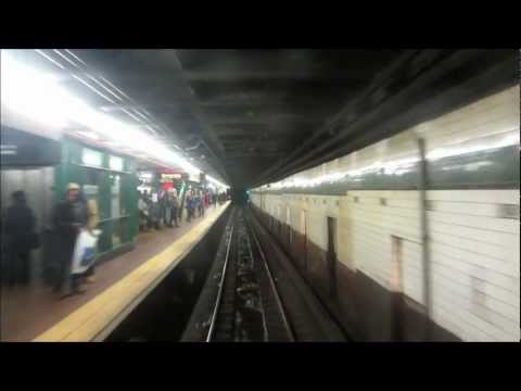 Trains on the 8th Avenue Line in New York City (including driver