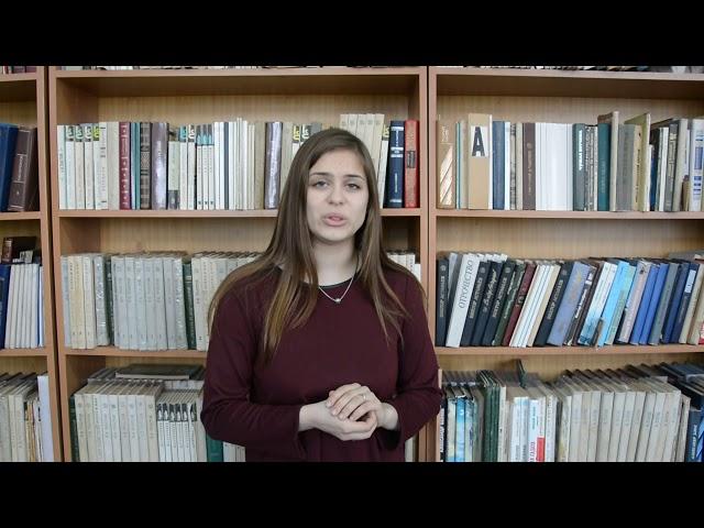Изображение предпросмотра прочтения – ДарьяКожевникова читает произведение «О доблести, о подвигах, о славе....» А.А.Блока