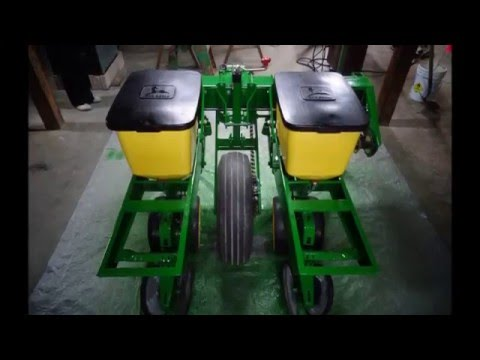 Biggs Farm Equipment 2 Row Planter S For Sale Youtube