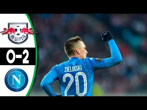 RB Leipzig vs. Napoli ( 0-2 ) UEFA Europa League 22/02/2018 HD