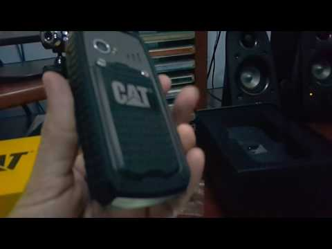 Celular Caterpillar Cat B 25 Antichoque Prova D'agua Poeira