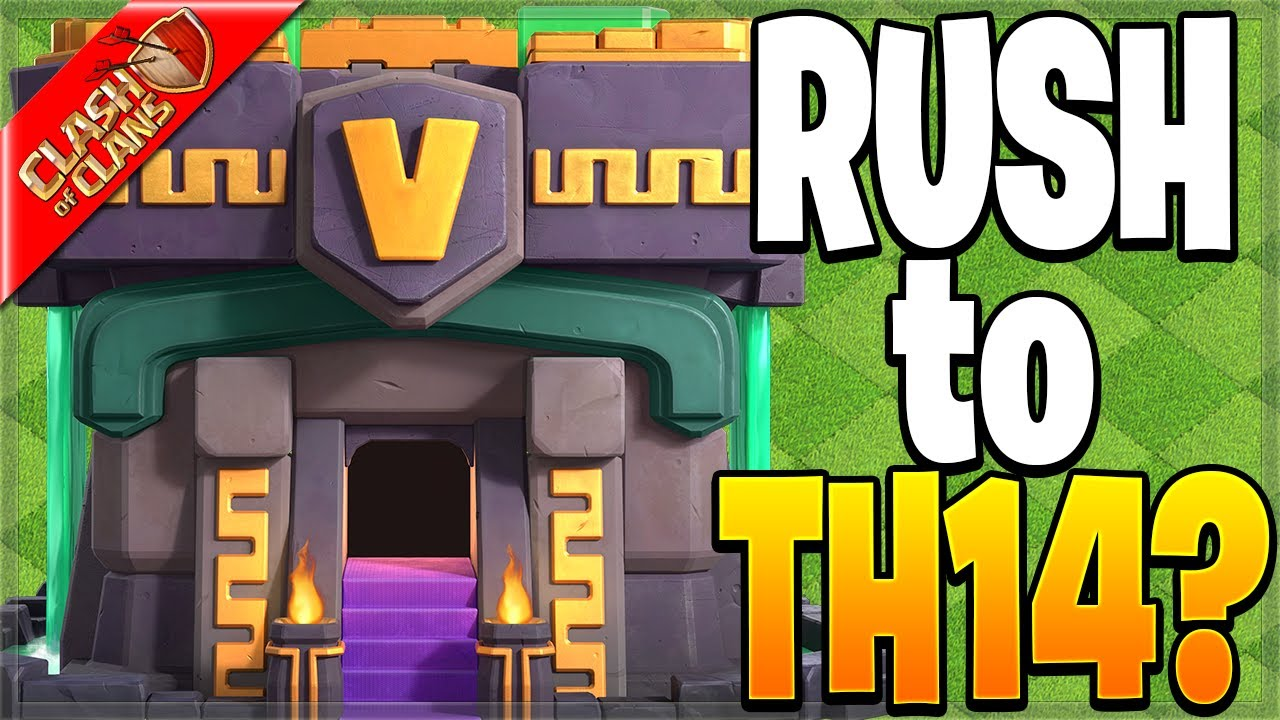 Should You Rush to Town Hall 14?! (Clash of Clans)
