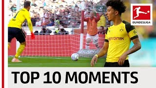 Top 10 Moments – September 2018 – Dortmund's Incredible Comeback, A Bizarre Own Goal & More