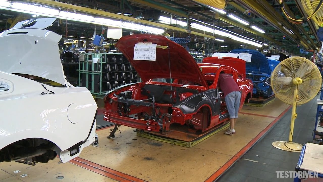 Ford Mustang Production