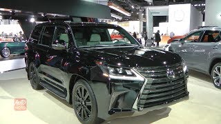 2019 Lexus LX 570 Three-Row Inspiration Series - Exterior Interior - 2018 LA Auto Show