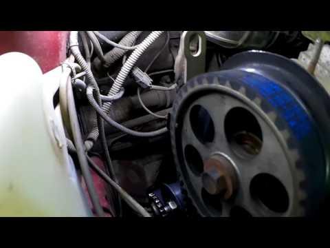 Как поменять ремень грм на лада калина 8 клапанов видео
