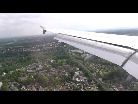 [Onboard] Lufthansa Airbus A320 landing ✈️ Hannover Airport