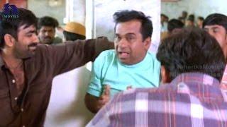 Ravi Teja Slaps Brahmanandan Superb Funny Scene - Venky Telugu Movie Scenes